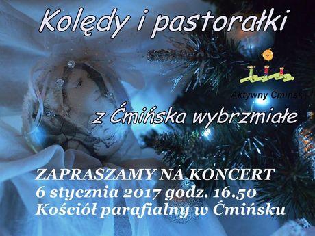 zobacz info Muzyka Koncert kolęd i pastorałek z Ćmińska wybrzmiałych