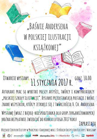 Miejskie Centrum Kultury, Skarżysko-Kamienna Sztuki plastyczne Baśnie Andersena w polskiej ilustracji książkowej