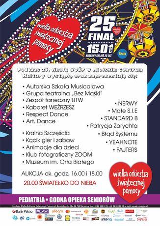 Miejskie Centrum Kultury, Skarżysko-Kamienna Muzyka Skarżyska WOŚP