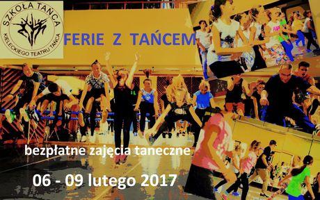 Szkoła tańca KTT Taniec Ferie z tańcem - bezpłatne zajęcia taneczne