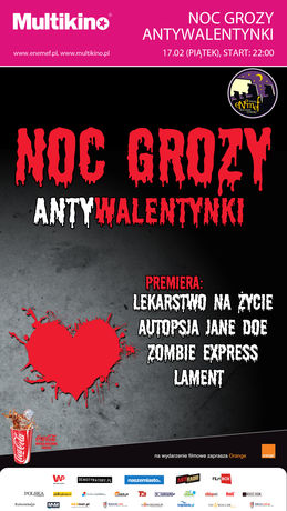 Multikino Kino ENEMEF: Noc Grozy - Antywalentynki