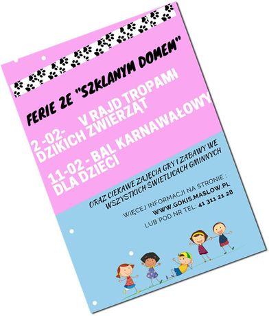 Centrum Edukacyjne - Szklany Dom Kultura Ferie ze ''Szklanym Dworem''