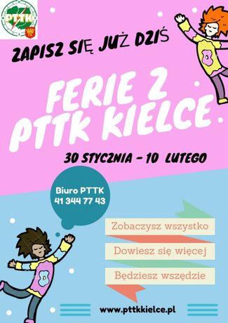 zobacz info Sport i Rekreacja Ferie z PTTK Kielce