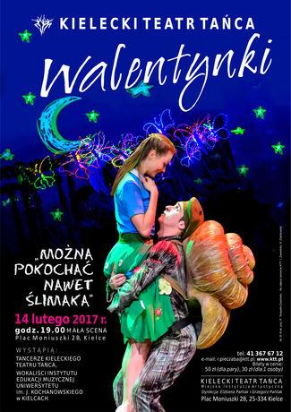 Kielecki Teatr Tańca Taniec Walentynki