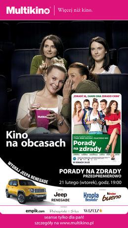 Multikino Kino Kino na Obcasach: Porady na zdrady