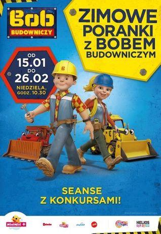 Helios Kino Zimowe poranki z Bobem Budowniczym