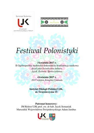 zobacz info Literatura Festiwal Polonistyki