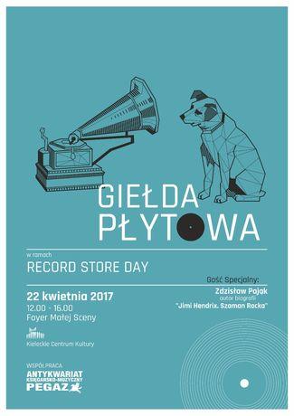 Kieleckie Centrum Kultury Muzyka Record Store Day