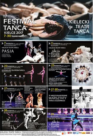 Kielecki Teatr Tańca Kultura 17 FESTIWAL TAŃCA KIELCE 2017