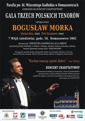 zobacz info Muzyka Koncert Bogusława Morka