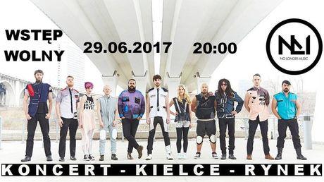 Rynek - Kielce Muzyka Koncert No Longer Music