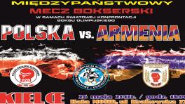 Hala Sportowa - Krakowska Sport i Rekreacja Międzypaństwowy mecz bokserski POLSKA-ARMENIA