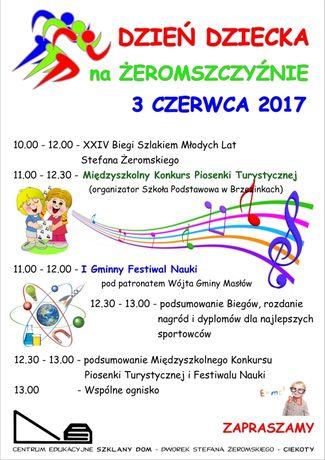 Centrum Edukacyjne - Szklany Dom Świętokrzyskie Dzień Dziecka na Żeromszczyźnie