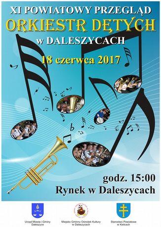 zobacz info Muzyka XI Powiatowy Przegląd Orkiestr Dętych