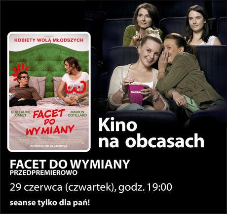 Multikino Kino Kino na obcasach: Facet do wymiany
