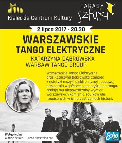 Kieleckie Centrum Kultury Muzyka Katarzyna Dąbrowska oraz Warsaw Tango Group / Tarasy Sztuki