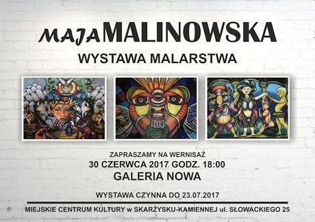 Miejskie Centrum Kultury, Skarżysko-Kamienna Sztuki plastyczne Wystawy malarstwa Mai Malinowskiej