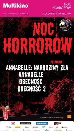 Multikino Kino ENEMEF: Noc horrorów z premierą Annabelle