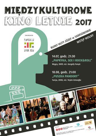 zobacz info Kino Międzykulturowe Kino Letnie 2017 -