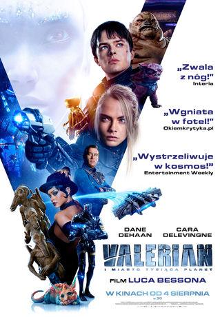 Kino Moskwa Kino Valerian i miasto tysiąca planet