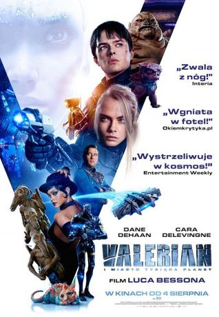 Helios Kino Valerian i miasto tysiąca planet
