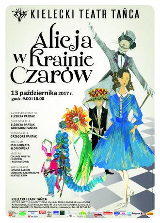 Kielecki Teatr Tańca Kultura Alicja w Krainie Czarów