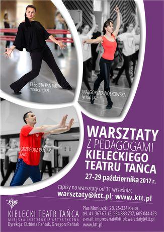 Kielecki Teatr Tańca Taniec Warsztaty z pegagogami Kieleckiego Teatru Tańca