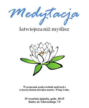 zobacz info Kultura Medytacja łatwiejsza niż myślisz