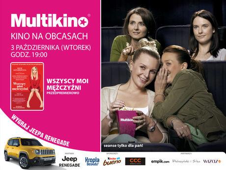 Multikino Kino KINO NA OBCASACH: WSZYSCY MOI MĘŻCZYŹNI
