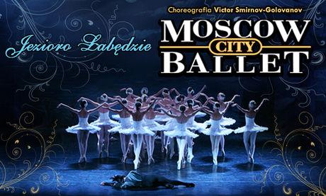 Kieleckie Centrum Kultury Taniec MOSCOW CITY BALLET - Jezioro Łabędzie
