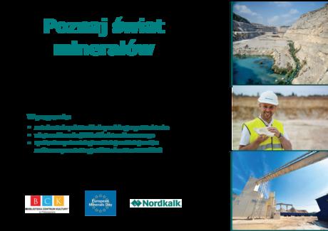 zobacz info Świętokrzyskie Kraina Minerałów - Dzień Otwarty w kopalni wapienia w Miedziance