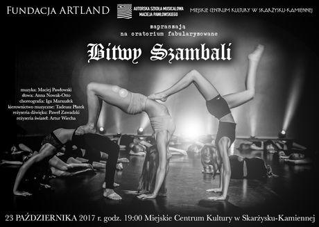 Miejskie Centrum Kultury, Skarżysko-Kamienna Teatr Oratorium fabularyzowane BITWY SZAMBALI