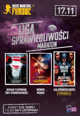 Helios Kino Maraton Ligi Sprawiedliwości