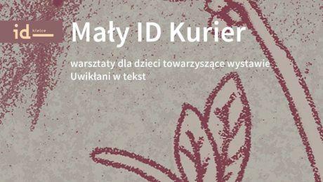 Institute of Design Kielce Kultura Mały ID Kurier - warsztaty dla dzieci