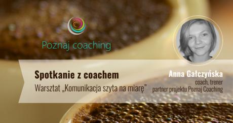 Sport i Rekreacja Spotkanie z coachem - warsztat