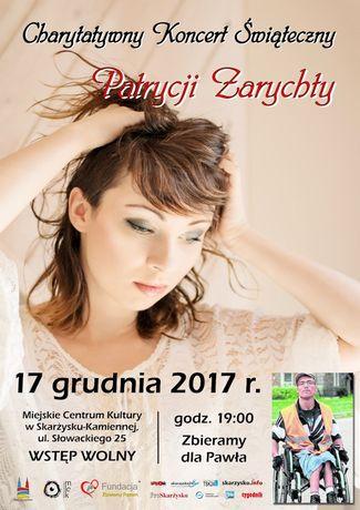 Miejskie Centrum Kultury, Skarżysko-Kamienna Muzyka Chyrytatywny Koncert Świąteczny Patrycji Zarychty