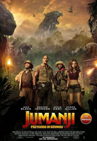 Helios Kino Jumanji: Przygoda w dżungli - przedpremiera