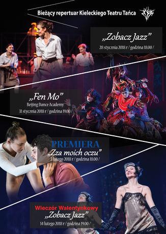 Kielecki Teatr Tańca Taniec Bieżący Repertuar Kieleckiego Teatru Tańca