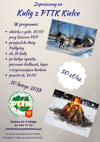 zobacz info Sport i Rekreacja Kulig z PTTK