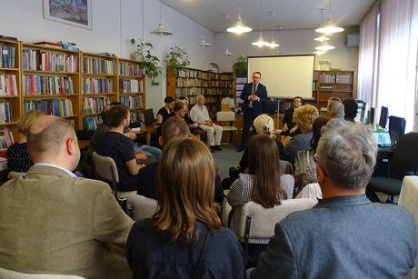 Miejskie Centrum Kultury, Skarżysko-Kamienna Cywilizacja Spotkanie z Rzecznikiem Praw Obywatelskich dr Adamem Bodnarem