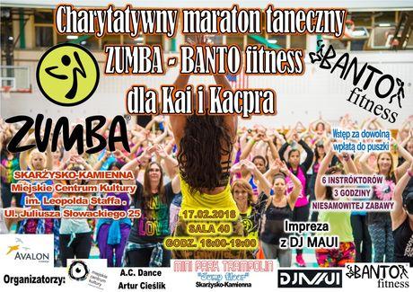 Miejskie Centrum Kultury, Skarżysko-Kamienna Taniec Charytatywny Maraton Zumby