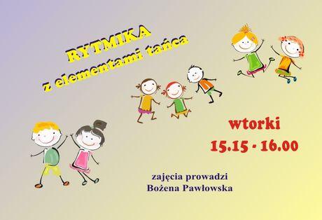 Słoneczko Taniec Rytmika dla przedszkolaków