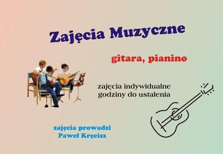 Słoneczko Muzyka Gitara, pianino / nauka gry
