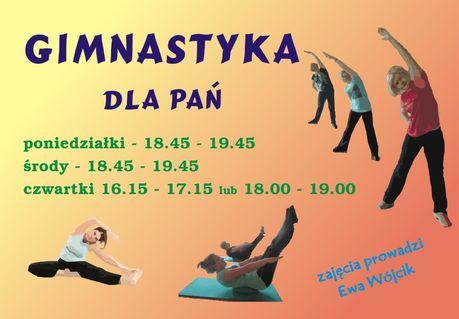 Słoneczko Sport i Rekreacja Gimnastyka dla Pań