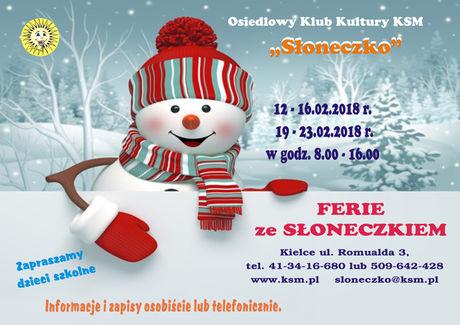 Słoneczko Kielce Ferie ze Słoneczkiem