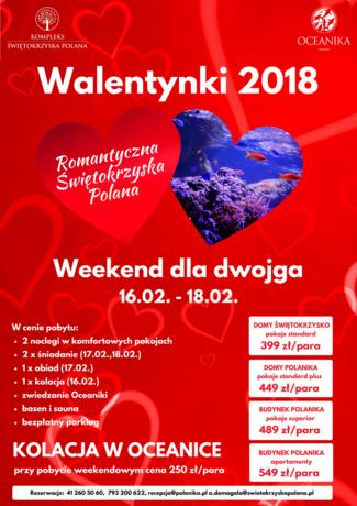 zobacz info Świętokrzyskie Walentynkowy Weekend dla dwojga