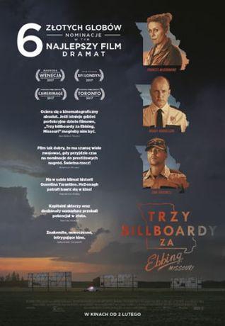 Helios Kino Trzy Billboardy za Ebbing, Missouri