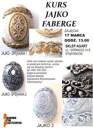 zobacz info Sztuki plastyczne Kurs jajko faberge