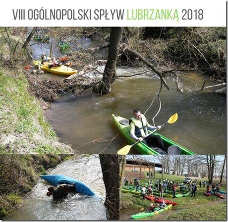 Centrum Edukacyjne - Szklany Dom Sport i Rekreacja VIII Ogólnopolski Spływ Lubrzanką