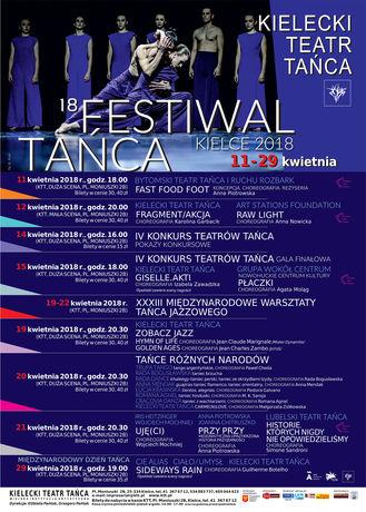 Kielecki Teatr Tańca Taniec 18 Festiwal Tańca Kielce 2018